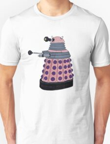 Pink Dalek. T-Shirt