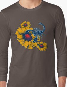 Scorpion Flowers Long Sleeve T-Shirt