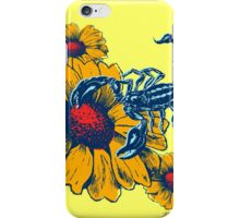 Scorpion Flowers iPhone Case/Skin