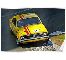 Norm Beechey - V8 Holden Monaro Poster