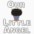 Our Little Angel Sitting on Cloud Brunette by Chere Lei