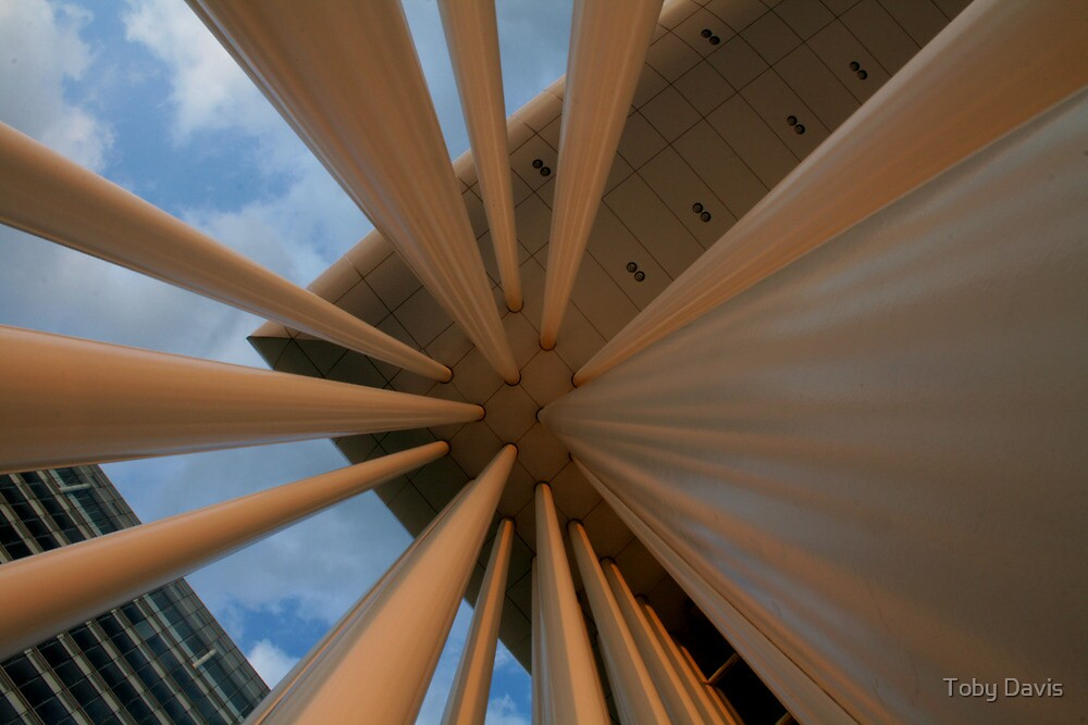 Pillars of Philharmonie Architectural Photograph for Sale by Toby Davis