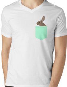 Roger - Bunny, Rabbit, Pet, Cute, Easter, Pet Rabbit, Pet Friendly, Bunny Cell Phone Case Mens V-Neck T-Shirt