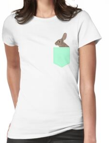 Roger - Bunny, Rabbit, Pet, Cute, Easter, Pet Rabbit, Pet Friendly, Bunny Cell Phone Case Womens Fitted T-Shirt