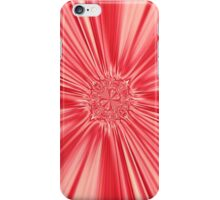 Curtain Call in Coral iPhone Case/Skin