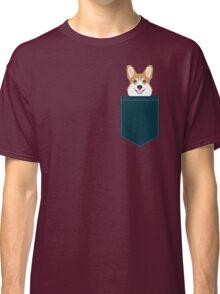Teagan - Corgi Welsh Corgi gift phone case design for pet lovers and dog people Classic T-Shirt
