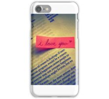 Library Love iPhone Case/Skin
