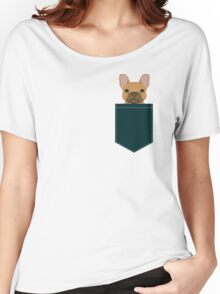 Willow - French Bulldog phone case art design for dog lovers and dog people Women's Relaxed Fit T-Shirt
