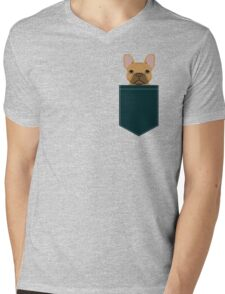 Willow - French Bulldog phone case art design for dog lovers and dog people Mens V-Neck T-Shirt