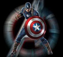 Captain America - ready to avenge by avengingnemesis