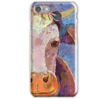 THE COW WITH THE CRUMPLED HORN iPhone Case/Skin
