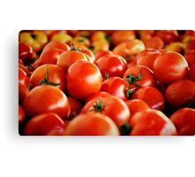 Tomatoes.... Canvas Print