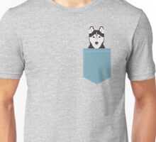 Shiloh - Husky Siberian Husky dog art phone case gifts for dog person Unisex T-Shirt