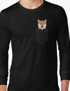 Indiana - Shiba Inu gift design for dog lovers and dog people Long Sleeve T-Shirt
