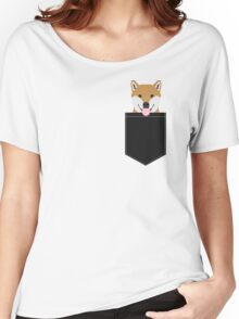 Indiana - Shiba Inu gift design for dog lovers and dog people Women's Relaxed Fit T-Shirt