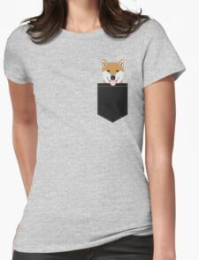 Indiana - Shiba Inu gift design for dog lovers and dog people Womens Fitted T-Shirt