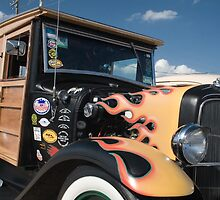 1928 Ford Woody Delivery Truck by chuckbruton