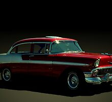 1956 Chevrolet Four Door Bel Air by TeeMack
