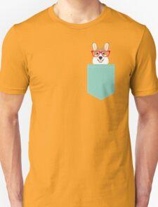 Teagan Glasses Corgi cute puppy welsh corgi gifts for dog lovers and pet owners love corgi puppies Unisex T-Shirt