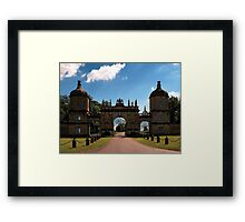 Burghley House - Stamford, England Framed Print