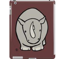 Wildlife Chibi - White Rhino iPad Case/Skin