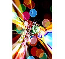 Bright Lights at Midnight Photographic Print