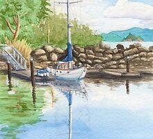 Grace Point Reflections by RavenHartStudio
