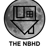 The NBHD - Moon Print by agShop