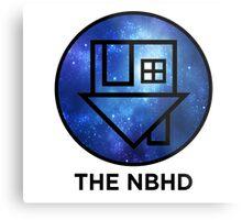 The NBHD - Blue Galaxy Print Metal Print