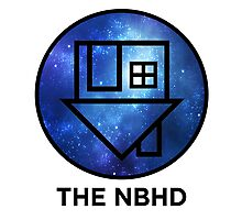 The NBHD - Blue Galaxy Print Photographic Print
