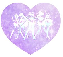 Sailor Moon - Galaxy Heart Purple by agShop