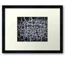 Network Energy Framed Print