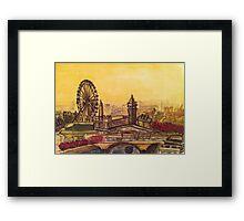London Landscape Framed Print