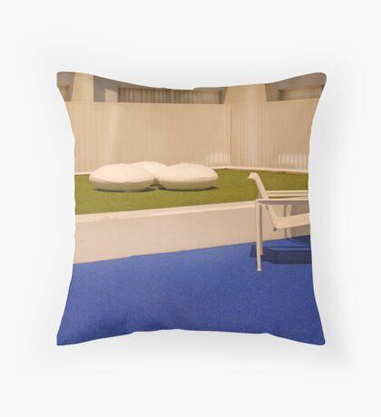 Post Modern LA Throw Pillow