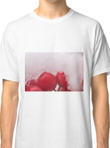 Berries in the Snow, As Is Classic T-Shirt
