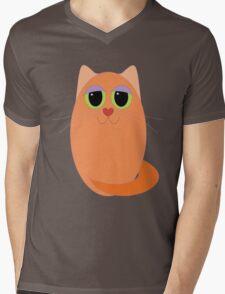 CAT MARMALADE ONE Mens V-Neck T-Shirt