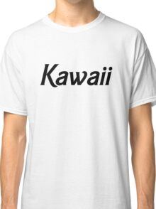 Kawaii - Black Classic T-Shirt