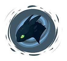 toothless badge Photographic Print