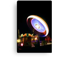 Fairground Spinner Canvas Print