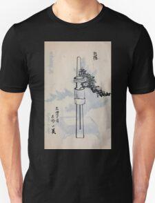 Yenshu ryu ikebana hiak bin no zu shiki konzatsu Flower arrangement in the Enshu style V2 1897 0043 T-Shirt