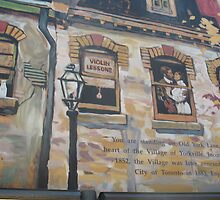 Yorkville Murale by MarianBendeth