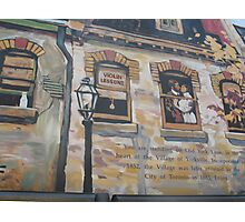 Yorkville Murale Photographic Print