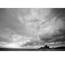 Storm Rolls Into Miami Photographic Print
