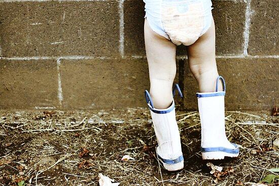Garden boots by Avena Singh