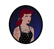 Rockabilly Cindy Photographic Print