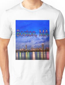 Harvard Bridge, colorful reflection Unisex T-Shirt