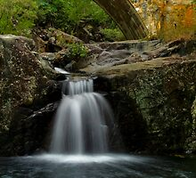 Crystal Creek Falls - Below the bridge - Paluma Range by Paul Gilbert