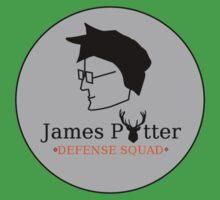 James Potter Defense Squad- Black background Option Kids Clothes