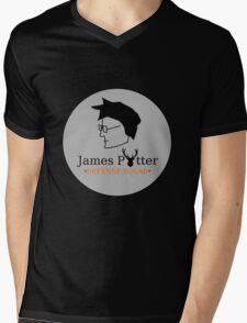 James Potter Defense Squad- Black background Option Mens V-Neck T-Shirt