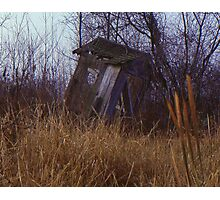 Abandoned Out House Photographic Print